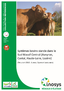 Syst mes bovins viande dans le sud massif central aveyron cantal haute loire loz re - Chambre agriculture aveyron ...