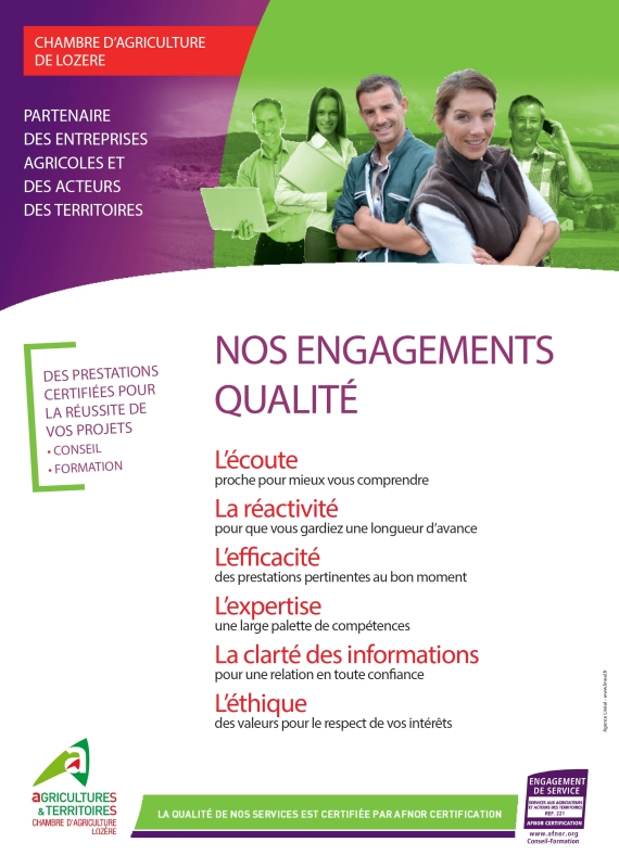 DQS nos engagements